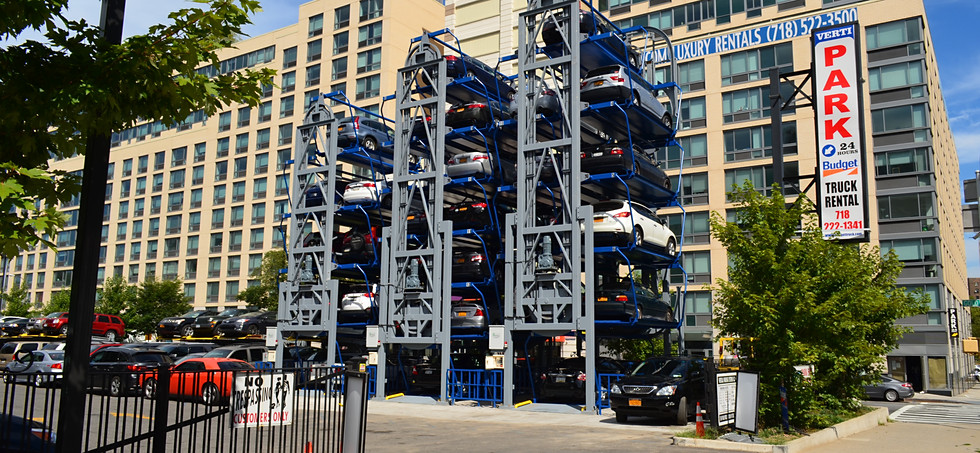 Parkmatic Automated And Mechanical Parking Stackers