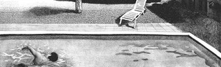 「泳ぐ人」扉絵