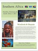 2009 Namibia - Botswana - SAR (Cover pag
