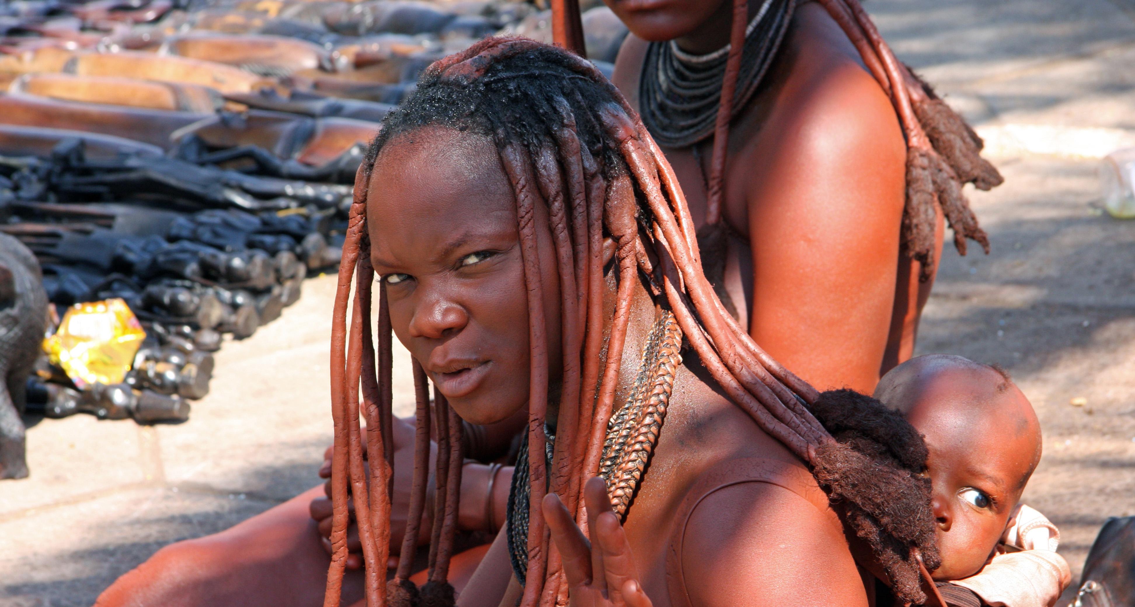 14. Namibia Himba woman