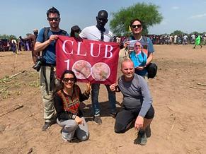 Club100 resa till Sydsudan