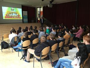 Schulvortrag Gymnasium Bludenz (AT)