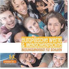 Infofolder Europäische Werte und Menschenrechte - Bildungsangebot für Schulen
