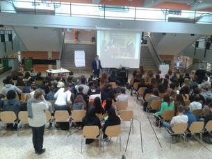Schulvortrag BG/BRG Pichelmayergasse, Wien (AT)