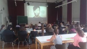 Schulvortrag Modeschule, Graz (AT)