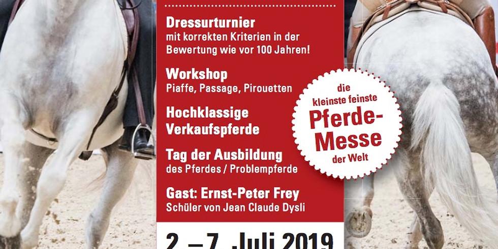 """Pferdemesse """"Feira"""" in den Oliviera Stables bei München"""