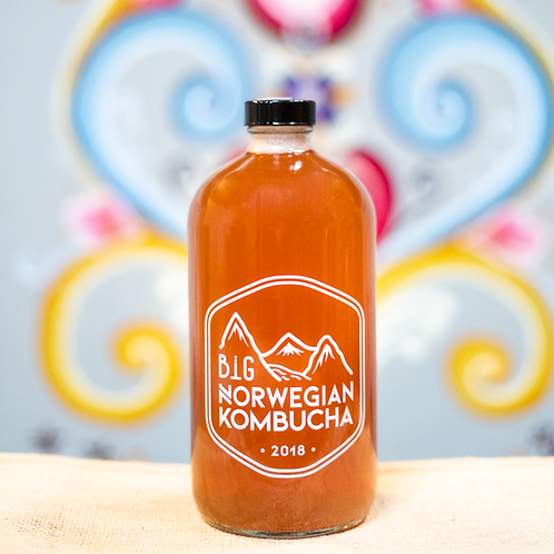 32oz Growler Fill Kombucha