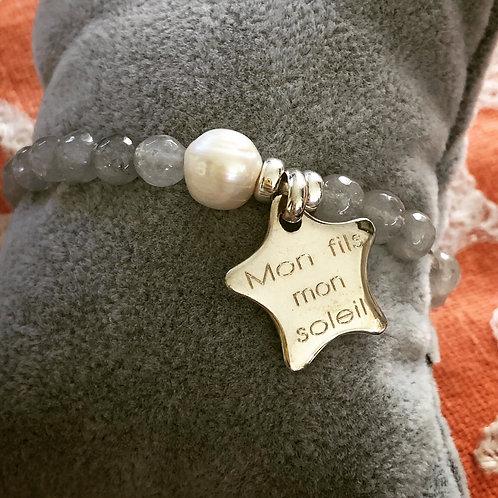 Bracelet mon fils mon soleil