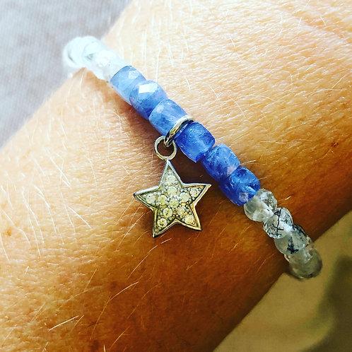 Bracelet tanzanites