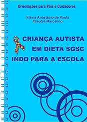 capa cartilha criança autista indo para a escola