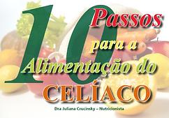 capa 10 passos para a alimentação do celíaco