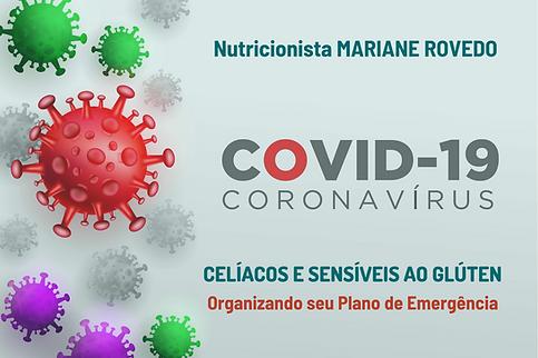 Capa cartilha plano de emergência para celíacos na Covid-19