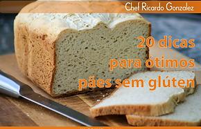 capa 20 dicas para pão sem glúten
