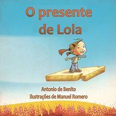 capa o presente de Lola