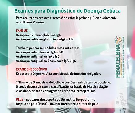 Exames para Doença Celíaca