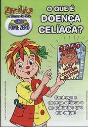 capa cartilha da Emília sobre doença celíaca
