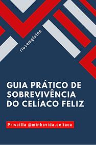 capa Guia prático de sobrevivência do celíaco feliz