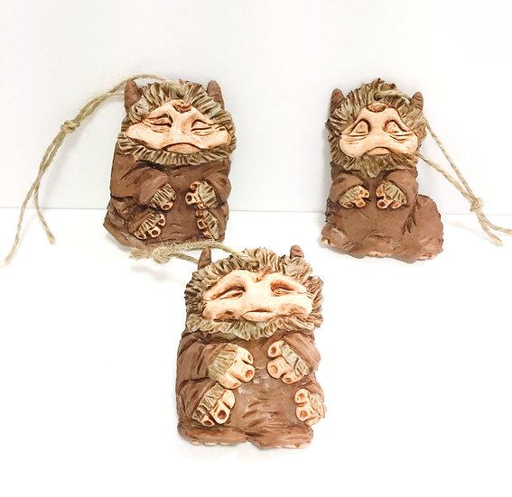 Bog Troggle Ornaments