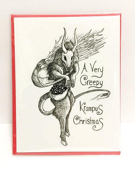Krampus Holiday Greeting Card