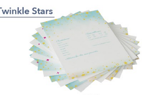 Elated Events Baby Shower Games: Twinkle Stars