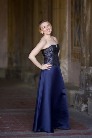 Jeanai La Vita (blue dress)