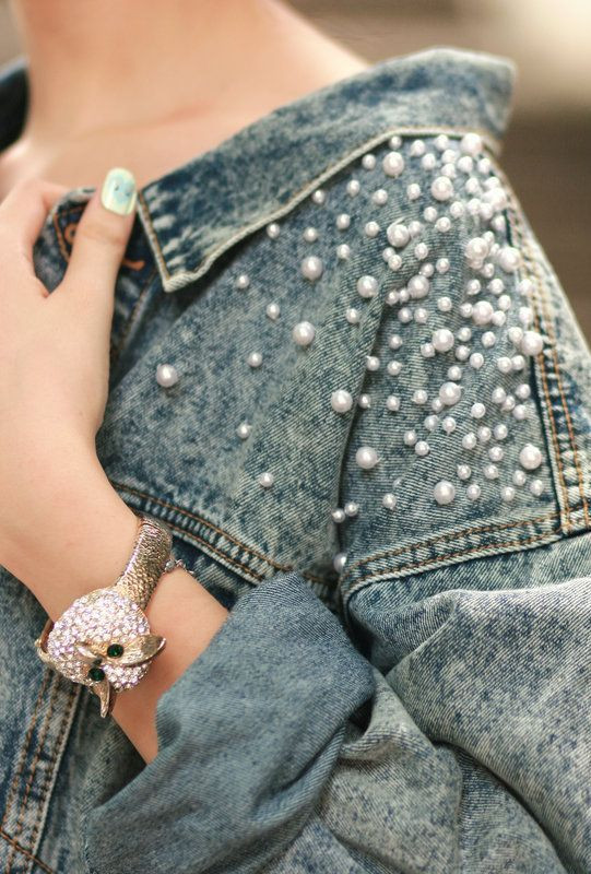 denim, denim jacket, chaquetas de denim, jean, cazadoras vaqueras, denim jackets intervenidas, moda, fashion, tendencia