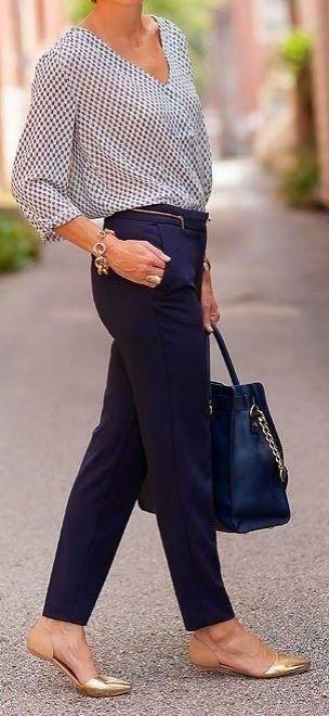 Pantalones Rectos