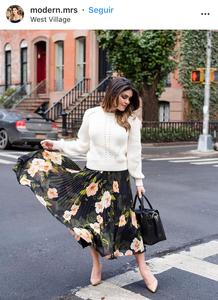 flower skirt, skirt, flores, vestido de flores