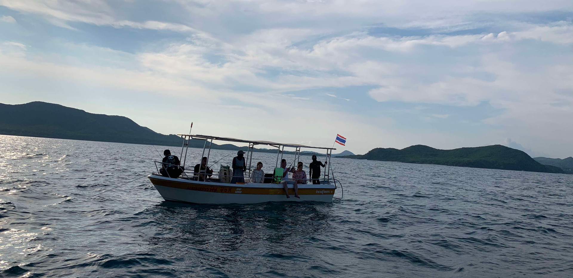 fishing trip near Pattaya