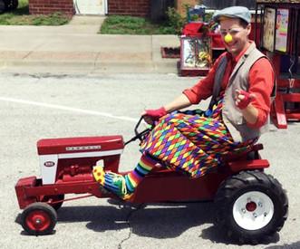 Festival clowning