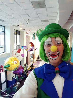Children's Mercy clowning
