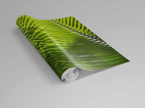 Interlocking Palm Fronds Wall Paper