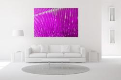 Magenta Palm Wall Art
