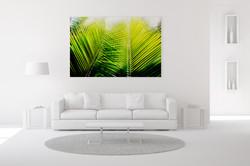 Double Palm Wall Art