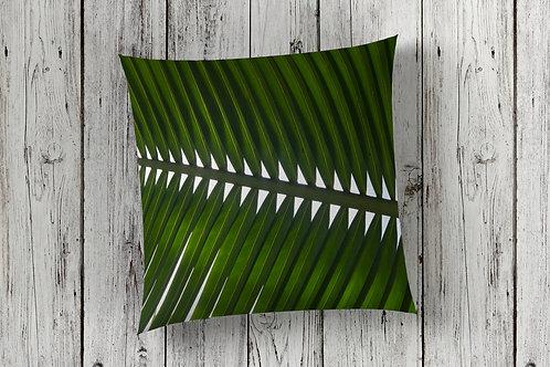 Single Palm Frond Cushion