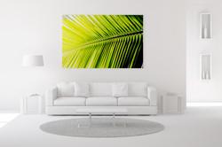 Single Palm Frond Wall Art