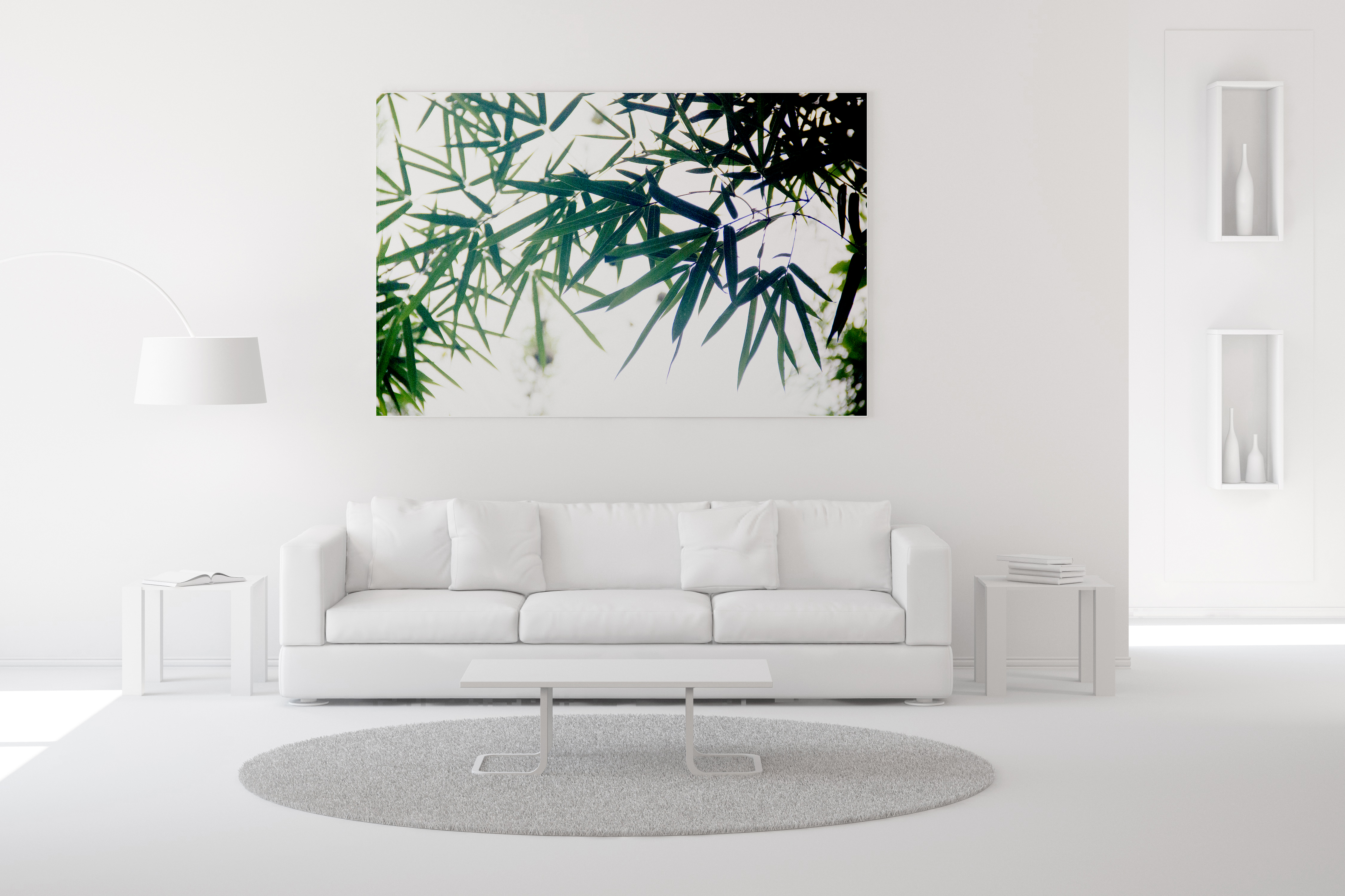 Bamboo Grove Wall Art