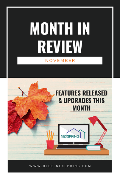 A Monthly in Review!