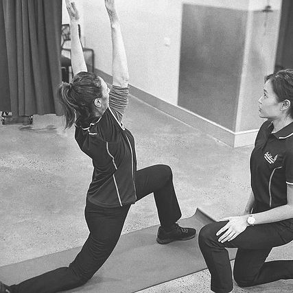 Clare Physiotherapist doing Clinical Pilates