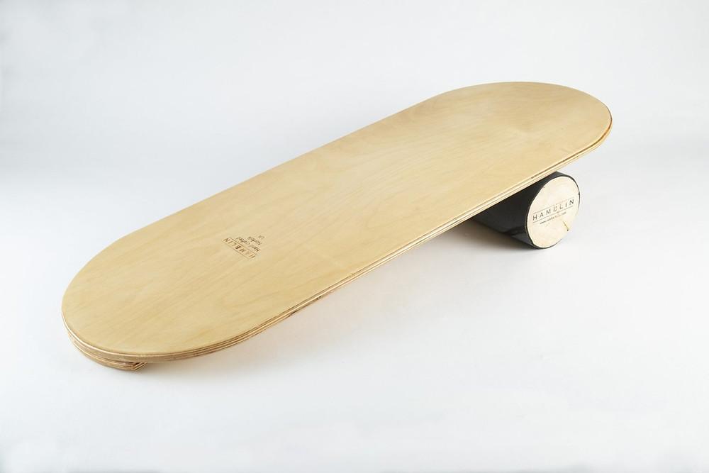 Balanace board made out of wood