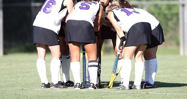 Field Hockey Huddle