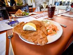 Schnitzel Dinner For 2 Special