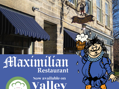 Maximilian Restaurant is so pleased to be part of Valley Eats!