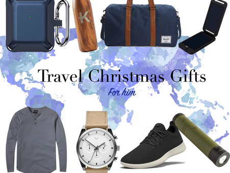 Travel Christmas Gift Guide: For Him