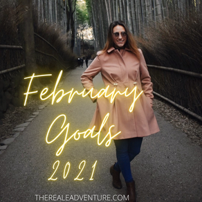 Monthly Goals for February 2021