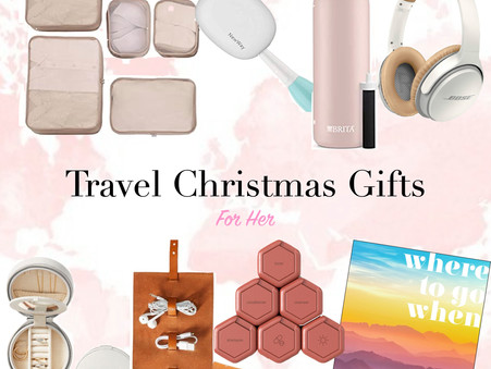 Travel Christmas Gift Guide for Her