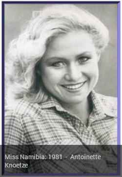 1981 Antoinette Knoetze