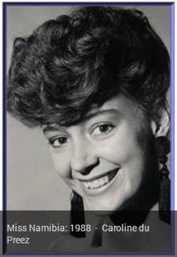 1988 Caroline du Preez