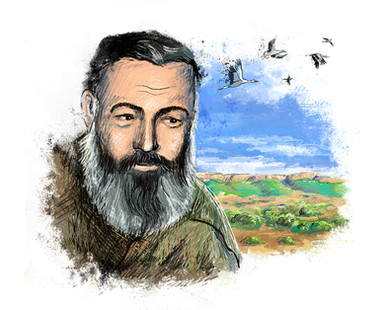 "Ernest Hemingway ""Green Hills of Africa"""