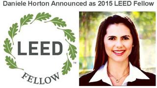 Daniele Horton Announced as 2015 LEED Fellow